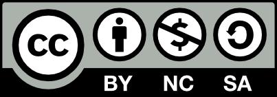 Licenca CC BY-NC-SA ikona
